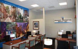 Dranoff Realty sales office by advertising agency in Philadelphia