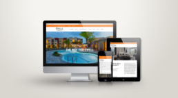 Dwell Nona Place website design responsive design by advertising agency in Philadelphia