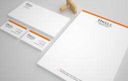 Dwell Cherry Hill Stationery design by advertising agency in Philadelphia