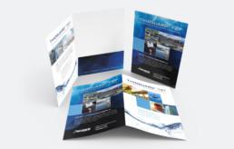 Thioguard TST brochure folder design by advertising agency in Philadelphia