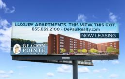 Beacon Pointe billboard design by advertising agency in Philadelphia