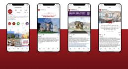 Judd Builders social media instagram by advertising agency in Philadelphia