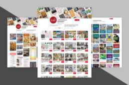 Judd Builders social media pinterest by advertising agency in Philadelphia